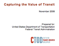 Capturing the value of transit